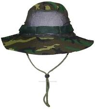 Tropic Hats Adult Camouflage Ripstop Boonie W/Mesh #905 Jungle