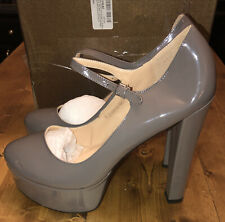 Onlymaker Womens Mary-Jane Pumps Platform Chunky High Heels Ankle Strap Shoes 15