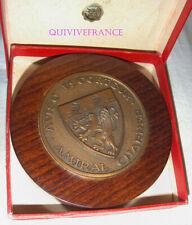TB391 - PETITE TAPE DE BOUCHE en bronze - AVISO ESCORTEUR AMIRAL CHARNER