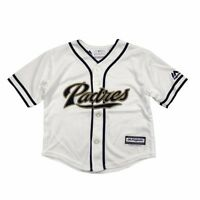 San Diego Padres MLB Majestic Athletic Infant White Home Cool Base Jersey