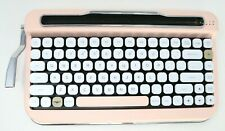 Penna Buetooth Keyboard Typewriter Wireless Pink Mechanical Switches IOS Windows