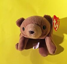 Cubbie Beanie Baby - REDUCED PRICE! RARE- PVC Pellets, 1993, No Number, Errors
