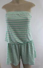 NWT Victoria's Secret  Cover Up Romper Very Sexy Strapless Jumpsuit  S H7