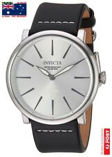 Invicta 22932 Men's 'I-Force' Quartz Stainless Steel and Leather Watch