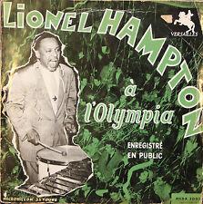 "Vinyle 33T Lionel Hampton ""Lionel Hampton à l'Olympia"""