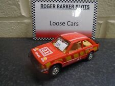 """Scalextric Ford Escort XR3i """"Motorsport """" red #25  unboxed bargain"""