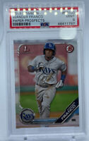 2019 Bowman Paper Prospects Wander Franco Rays RC Rookie PSA 9