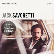 JACK SAVORETTI SLEEP NO MORE SPECIAL EDITION 2 CD (Release 8th SEPTEMBER 2017)