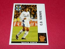 IGNACIO CONTE C.D. TENERIFE FUTBOL PANINI LIGA 95-96 ESPANA 1995-1996 FOOTBALL