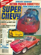 1982 Super Chevy Magazine: Chevy at Indy 500/471HP Chevelle 454/427 Camaro