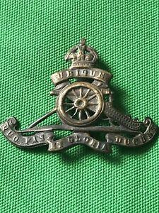 ww1 original royal artillery cap badge