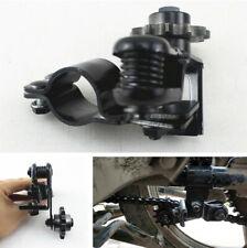 Black Motorcycle Bike Chain Tensioner Anti-skid Chain Guide Adjuster Circular