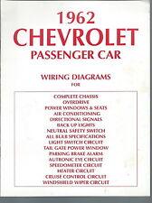 NI-010 - 1962 Chevrolet Passenger Car Wiring Diagrams Vintage Chevy