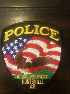 Arkansas  Police -  Huntsville  Police  AR  Police  Patch