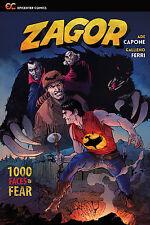 Zagor: 1000 Faces of Fear (2017 Paperback), GN, Capone, Ferri, Andreucci