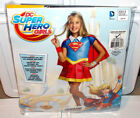 Rubies DC SuperHero Girls Supergirl Deluxe Child Kids Costume Halloween MED 8-10