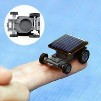 Solar Powered Robot Racing Car Vehicle Educational Gadget Mini Toy Kids G3F7