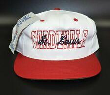 St. Louis Cardinals The Game MLB Vintage 90's Script Snapback Cap Hat - NWT