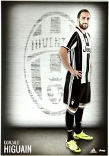 Cartoncino Juventus Stagione 2016/17 - Gonzalo Higuain