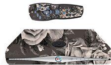 Autocollant Fleurs Noir / boîte de ciel peau HD et contrôleur à distance / sk38 controll