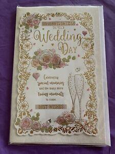 Congratulations On Your Wedding Day. Wedding Card