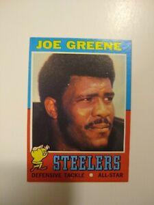 1971 Topps Football Near Complete Set 260/263 Joe Green, OJ Simpson, Joe Namath