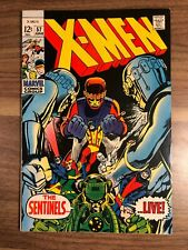 Uncanny X-men  57  Adams Art  Cyclops  Beast  Angel - MINT Copy