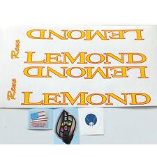 Lemond #2 complete set of decals vintage