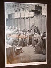 Roma nel 1903 Prima adorazione del nuovo Papa Pio X o Melchiorre Sarto di Riese