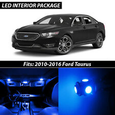 2010-2016 Ford Taurus Blue Interior LED Lights Package Kit