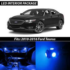2010-2016 Ford Taurus Blue Interior LED Lights Package Kit
