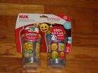 New NUK Emoji Insulated Hard Spout Sippy Cup, 9oz 2pk