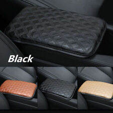 Universal Car SUV Armrest PU Leather Pad Cover Center Console Box Cushion Pads