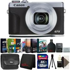 Canon PowerShot G7 X Mark III Digital Camera Silver + Ulitimate Accessory Kit