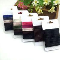 18Pcs Women Elastic Hair Band Ties Rope Ring Hairband Ponytail Holder Gift