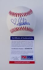 GIGI HADID SIGNED MAJOR LEAGUE BASEBALL PSA COA AD48376