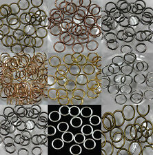 Wholesale 300pcs Jump Rings Open Connectors 7 colors U PICK