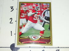 Tamba Hali 2013 TOPPS #171 Gold Bordered SP - Kansas City CHIEFS / Penn State