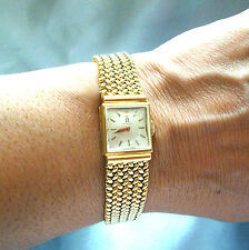 Flexible 18k , 750 solid Gold OMEGA lady's Watch Elegant 47.8 gr Pure Money