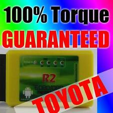 Torque Android OBD OBD2 Diagnostic Scanner Bluetooth Interface for Toyota cars