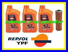 Kit Tagliando Honda Deauville 700 06 07 Filtro Olio Repsol 10w/40 2006 2007