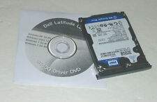 Dell Latitude E6400 320GB 7k SATA Laptop Hard Drive with Caddy and Driver DVD
