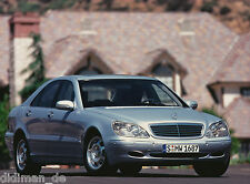 Mercedes S-Klasse W 220 Pressefoto 1998 23,8 x 17,8 cm Nr. A 98 F 4398 Autofoto