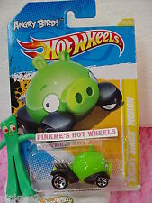 Funda Q 2012 #35 Prem Angry Birds Compinche Cerdo Verde Hot Wheels Oink! Premier