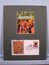 Walt Disney's Jungle Book & First Day Cover of Stamp