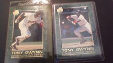 1992 Fleer Ultra Lot 2 #'s 7,9 Tony Gwynn Commemorative Series S. D. Padres