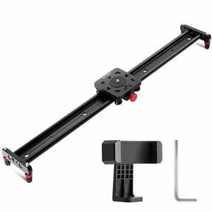 K&F Concept 31.5''/80cm Kamera Video Slider Track kameraschiene Video Schiene