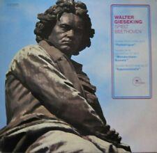WALTER GIESEKING SPIELT BEETHOVEN  - LP