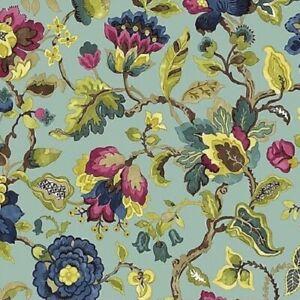 Cashmere by Sanderson for Freespirit Fabrics Amanpuri Large - Garden