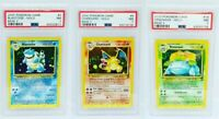 Rare Pokemon Cards PSA Charizard Blastoise Venusaur Original Holo Collection